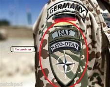 KANDAHAR WHACKER© JSOC GERMAN Bundeswehr SP OPS vel©®😎2-INSIGNIA SET: NATO ISAF