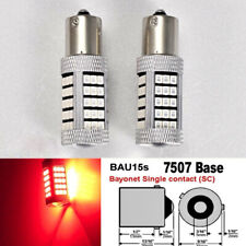 7507 BAU15S PY21W 63 LED Projector Red Bulb Front Signal B1 #12 For Honda