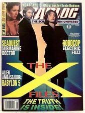 """STARLOG"" Issue #202 (1994) Sci-Fi/Movie/TV Magazine X-FILES, BABYLON 5, ROBOCOP"