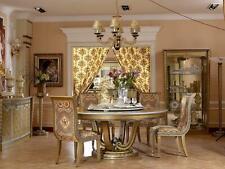 4 Stühle Set Esszimmer Designer Holz Stuhl Garnitur Antik Stil Barock Rokoko Neu