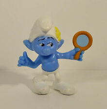 "2013 Vanity Smurf with Mirror 3"" McDonald's PVC Action Figure #8 Smurfs 2"