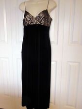 New NWT Dorothy Perkins Formal Prom Gown size US 6 UK 10 black bronze sequin