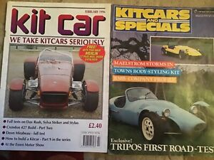 KIT CAR MAGAZINES 2 - WHICH KIT? FEBRUARY 1996 + KITCARS AND SPECIALS MARCH 1987