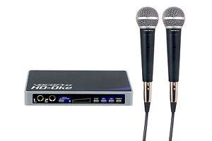 Vocopro HDOKE Karaoke Add On Hdmi And 2 Mics