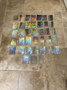 1996 SUPERMAN HOLO SERIES HOLOGRAM SILVER Lot Of 38 Cards!