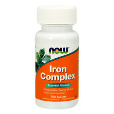 Iron Complex, 100 Tablets - NOW Foods
