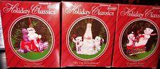Lot Of 3 Eckerd Coca-Cola Coke Holiday Classics Ornament polar bear*Kathy Scales