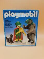 Playmobil klicky 3567 Tamer with Bear bailarín OVP Factory error box vintage Rare