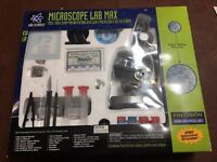Microscope Lab Max w/ Instructional CD, by Edu Science , new