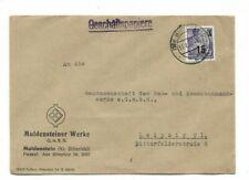 Brief aus Muldenstein 1954