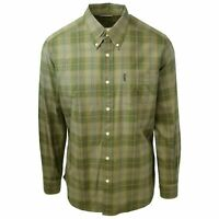 Beretta Men's Green Plaid L/S Woven Shirt (Retail $75)