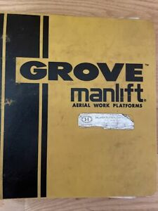 Grove Manlift Aerial Parts/Service Manual M240