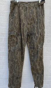 Mossy Oak Original Bottomland Chamois Hunt Pants Size Large (34-38) x 32