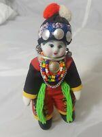 """Porcelain Glazed Thailand Doll 6.5"""" Tall"""