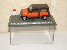 HACHETTE BELLE RENAULT RODEO 5  4 SAISONS TEILHOL 1982 EN BOITE 1/43