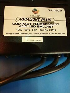 CORALIFE AQUALIGHT Plus Ballast No  53410 for 72 inch  bulb