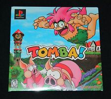 Tomba! Demo Disc (Sony PlayStation, 1997) PS1 - Brand New, Factory Sealed
