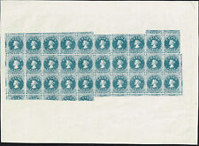 CHILE 1910 STAMP Dr. HAHN REPRINT FIRST ISSUES FULL MINI SHEET look!!
