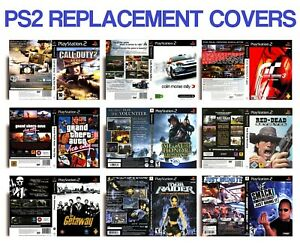 RETRO SONY PLAYSTATION 2 PS2 GAME REPLACEMENT CASE COVERS