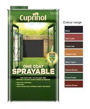 Cuprinol One Coat Sprayable Fence Treatment - All Colours - 5 Litres