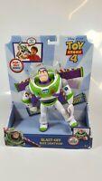 "Toy Story 4 Blast-Off Buzz Lightyear Figure Disney Pixar 7"" Mattel GGB24 New"