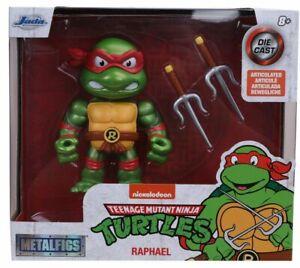 JADA TOYS Teenage Mutant Ninja Turtles Raphael 4-Inch Prime MetalFigs AF DIECAST