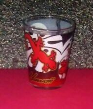 Hawaii gecko lizard tribal shot glass