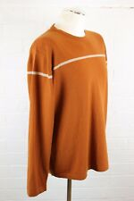 MARC O'POLO Mens Long Sleeve Brown Wool Crew Neck Jumper - Size XL - Extra Large