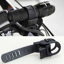 MTB Bicycle Bike Flashlight Torch Bracket Clip Mount Clamp Holder 360° Rotation