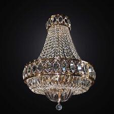 Lampadario classico oro e cristallo 8 luci BGA 2995-s52 design swarovsky