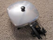 Vintage Model 160 Immersible Electric Skillet Fry Pan with Cord