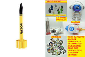 RAZOR Custom Rocket Company #10017 Skill Level 1 New Free Shipping Bulk Kit