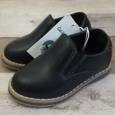 Cat & Jack Toddler Boys' Black Loafers Dress Shoes Size 5, 6, 7, 8, 10,11