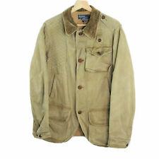 Vintage Polo Ralph Lauren Hunting Brown Chore Jacket Blazer Men's Size Small