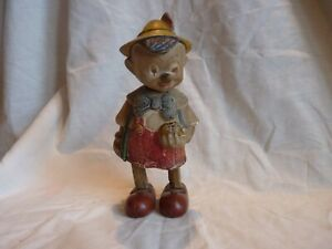 VERY RARE FRENCH ANTIQUE LES JOUETS CLOCKWORK PINOCCHIO WALKING TOY, COLLECTABLE