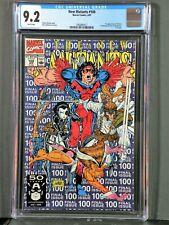 New Mutants #100 CGC 9.2 NM- 1st X-Force, 1st full Shatter-star, Last Issue