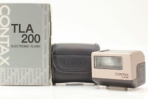【 UNUSED in BOX 】 Contax TLA200 Shoe Mount Flash For G1 G2 From Japan #680