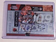 2009 Contenders Rookie Ticket Autograph Quan Cosby /311 Bengals Texas RC Auto