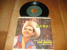 Hank Thompson.EP.A1.Hang your head in shame.A2.Someone can steal you love(1317)