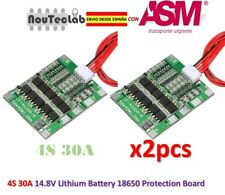 2pcs 4S 30A Li-ion Lithium 14.8V Battery PCB BMS 18650 Charger Protection Board