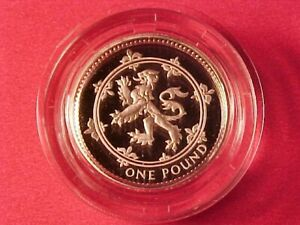 GREAT BRITAIN 1 POUND SILVER PROOF 1994 GEM CAMEO IN CASE NICE