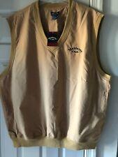 Nwt Monterey Club Men 2Xl Outerwear Vest Polyester Mustard Nylon Lining Xxl