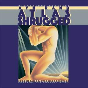 Atlas Shrugged by Ayn Rand (2000, Compact Disc CD, Abridged edition)