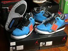 nike air jordan iii retro 3 power blue sz 9 ds og infrared cement 88 true fear