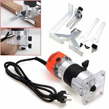 800W 0.25''30000RPM Electric Hand Trimmer Wood Laminate Palm Router Joiners Tool