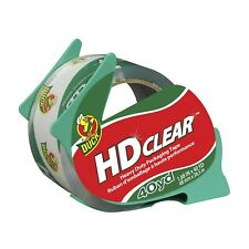 Duck Hd Clear Heavy Duty Packing Tape With Dispenser 188 Inch X 40 Yard 1