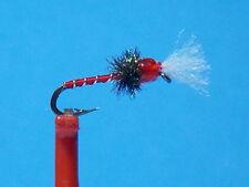 Rojo Midge Emerger Fly Red  sz. 20  HOT PATTERN