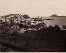 Italie Puzzuoli Photo Sommer Napoli Albuminé Vintage albumen ca 1875