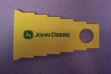 John Deere Corn Plastic Ice Scraper