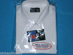 """TOP QUALITY SCHOOL-WORK BLOUSES;SIZES UP TO 50"""" INCH CHEST GIRLS-LADIES"""